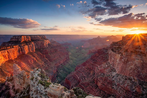 Dramatic Landscape「Grand Canyon - North Rim」:スマホ壁紙(9)