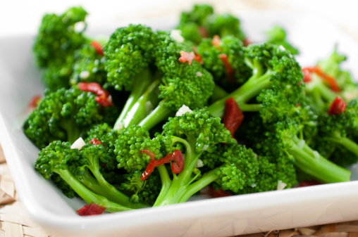 Steamed「Broccoli with Sun-Dried Tomatoes」:スマホ壁紙(6)