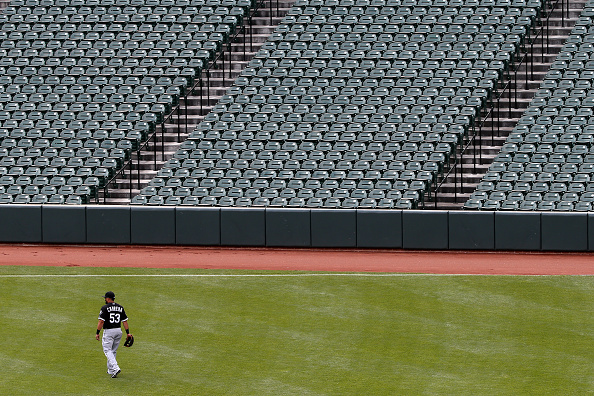 No People「Baltimore Unrest Forces Orioles Play White Sox In An Empty Camden Yards」:写真・画像(4)[壁紙.com]