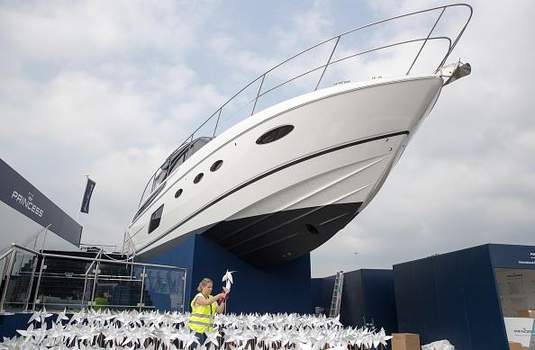 船・ヨット「Preparations Are Made For The Southampton Boat Show」:写真・画像(12)[壁紙.com]