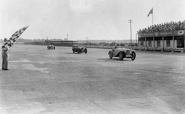 Auto Racing「MG Magna of SG Cummings winning a race, BARC meeting, Brooklands, Surrey, 1933」:写真・画像(15)[壁紙.com]