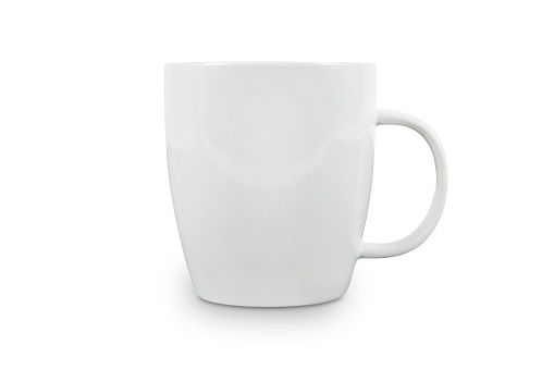 Coffee Cup「White Cup with space for logo - contains clipping paths.」:スマホ壁紙(8)