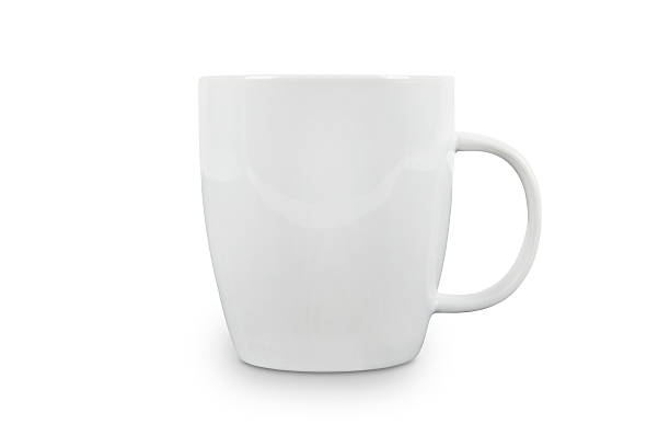 White Cup with space for logo - contains clipping paths.:スマホ壁紙(壁紙.com)