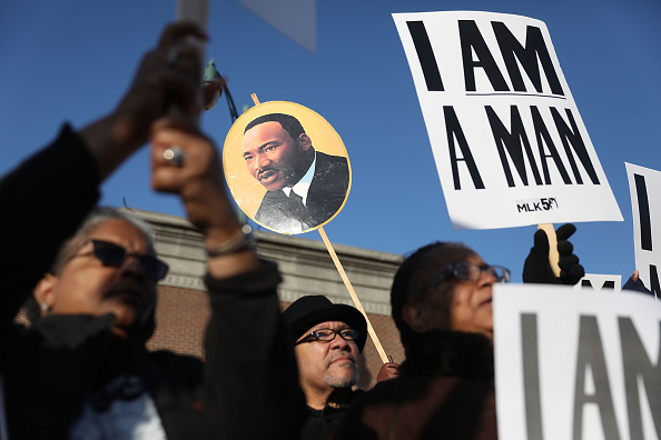 50th Anniversary「Memphis Marks 50th Anniversary Of Martin Luther King Jr's Assassination」:写真・画像(8)[壁紙.com]