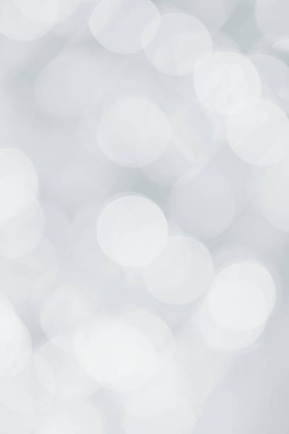 Silver and white sparkled background:スマホ壁紙(壁紙.com)