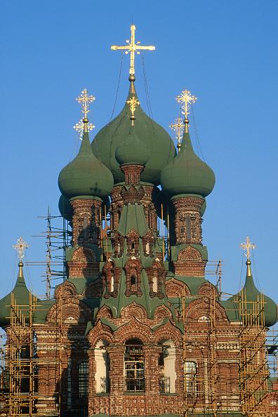 Brick Wall「Ostankino Church of the Trinity. Moscow, Russia.」:写真・画像(0)[壁紙.com]