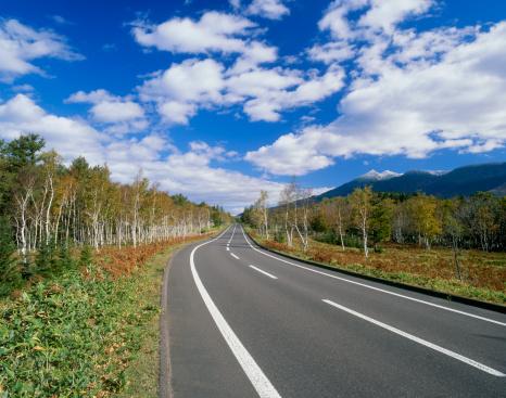 Hokkaido「Mount Iwo and Road, Shari, Hokkaido, Japan」:スマホ壁紙(16)