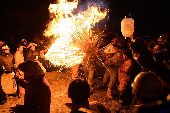 Bundle「Nozawaonsen Dosojin Fire Festival」:写真・画像(18)[壁紙.com]