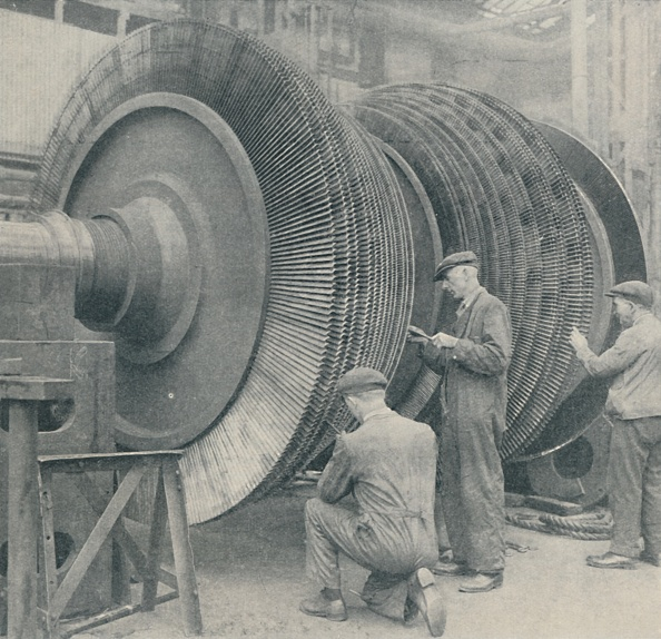 Propeller「A Many-Bladed Rotor For One Of The Queen Marys Low-Pressure Turbines 1」:写真・画像(10)[壁紙.com]