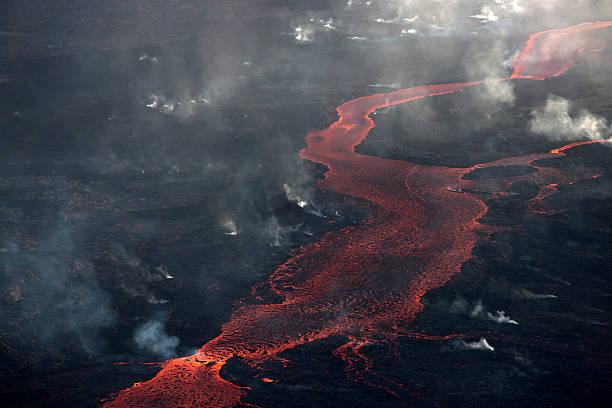 Bárdarbunga lava flow, Iceland.:スマホ壁紙(壁紙.com)