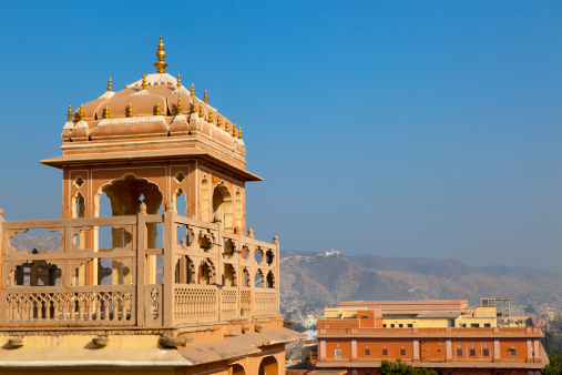 Rajasthan「Building detail inside Hawa Mahal, Jaipur, India」:スマホ壁紙(7)
