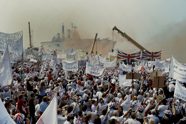 Falkland Islands「Falkands War Troops Return Home To United Kingdom」:写真・画像(11)[壁紙.com]