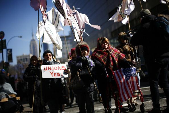 Broadway - Manhattan「100th Anniversary Marked Of New York's Infamous Triangle Shirtwaist Factory Fire」:写真・画像(10)[壁紙.com]
