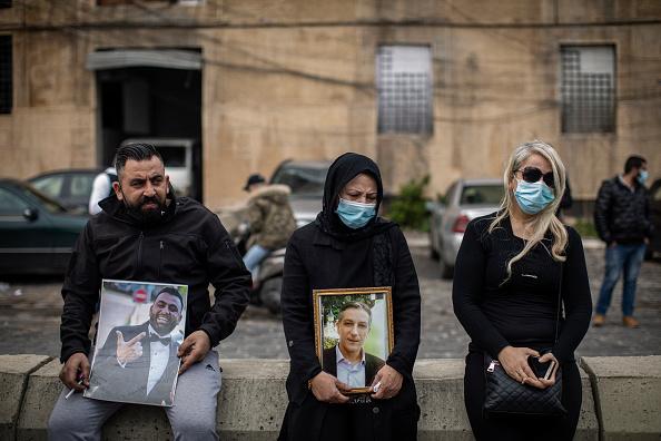 Exploding「Beirut Blast Victims Mourned Six Months On」:写真・画像(15)[壁紙.com]