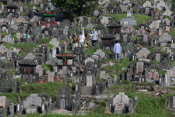 Money to Burn「Chinese Community Observes Tomb Sweeping Day」:写真・画像(15)[壁紙.com]