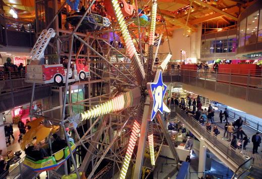 Amusement Park Ride「Christmas Shopping Season Arrives」:写真・画像(15)[壁紙.com]