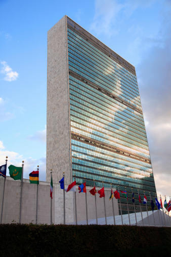 United Nations Building「UN Headquarters, NYC」:スマホ壁紙(15)