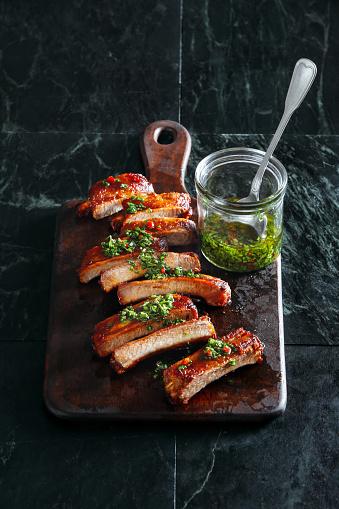 Char-Grilled「Bbq pork ribs」:スマホ壁紙(8)