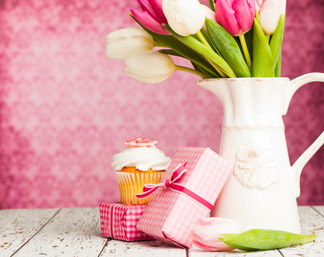 Mother's Day「Birthday Gifts and Flowers」:スマホ壁紙(4)