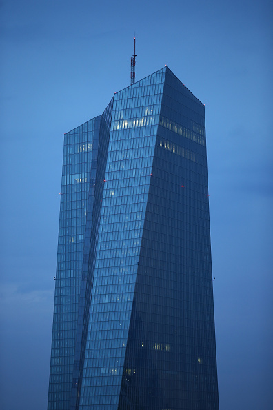 Seat of the European Central Bank「European Central Bank And Frankfurt Financial District」:写真・画像(18)[壁紙.com]