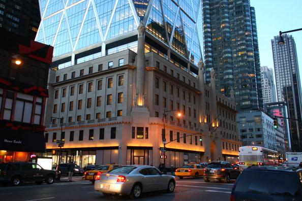 Hearst Magazine Tower「Hearst Building In New York City」:写真・画像(2)[壁紙.com]