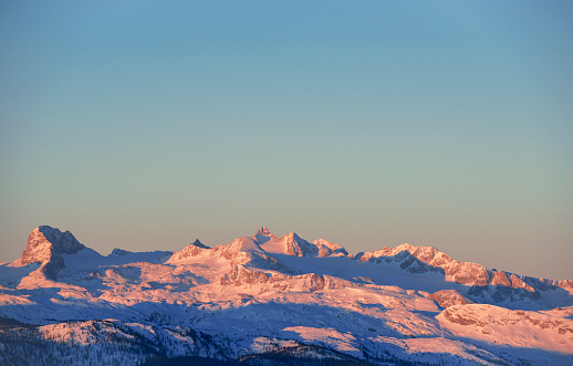 Dachstein Mountains「Dachstein in morning light, Austria」:スマホ壁紙(3)