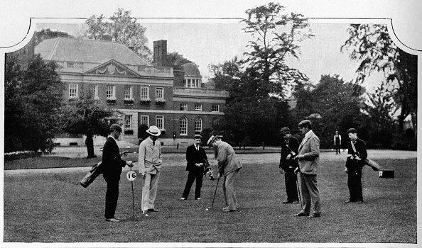 Edwardian Style「Golf at the Ranelagh Club, London, c1903 (1903)」:写真・画像(7)[壁紙.com]