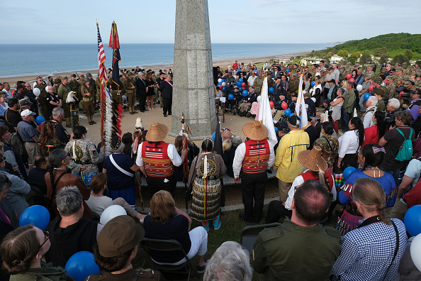 Celebration Event「Commemorations Begin For D-Day 75th Anniversary In Normandy」:写真・画像(3)[壁紙.com]