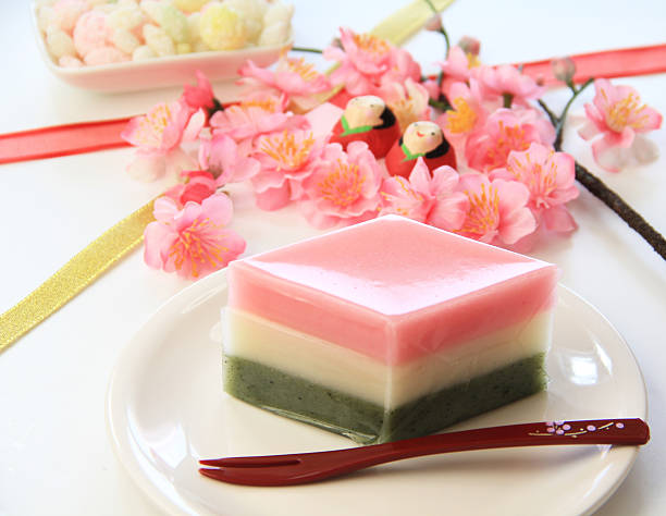 Hishi-mochi (Lozenge-shaped rice cake):スマホ壁紙(壁紙.com)