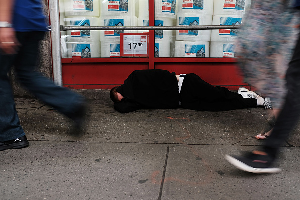 USA「Homelessness In New York City Surges 39 Percent In 2016」:写真・画像(14)[壁紙.com]