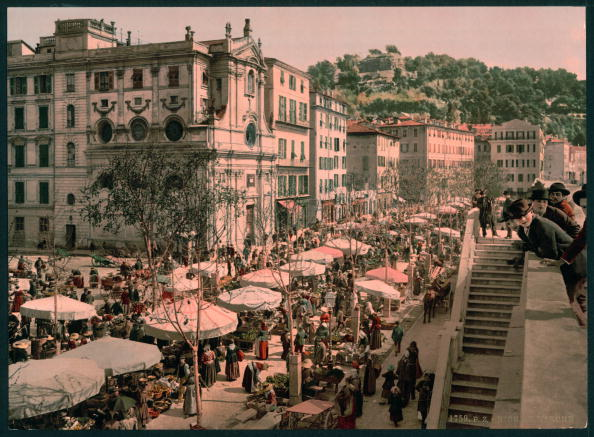 1900-1909「Nice Market」:写真・画像(1)[壁紙.com]