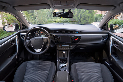 Antalya Province「View of modern car interior」:スマホ壁紙(13)