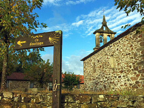 Camino De Santiago「Church on Camino de Santiago, Spain」:スマホ壁紙(8)