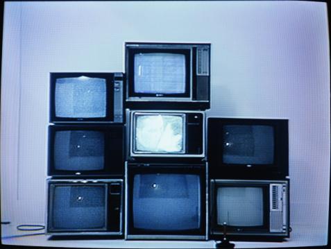 Video Still「Joystick in front of stack of televisions (video still)」:スマホ壁紙(10)