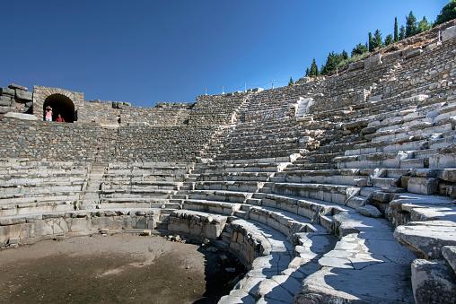 Izmir「Detail of Odeum, Ephesus, Izmir Turkey」:スマホ壁紙(13)