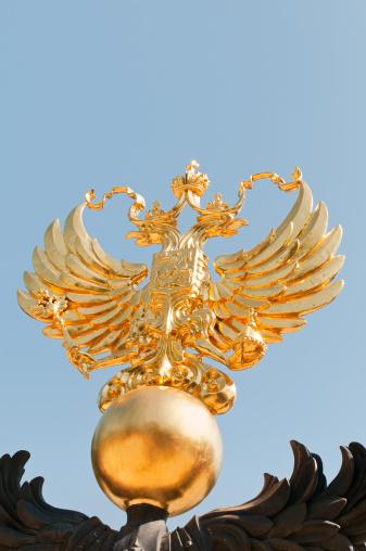 Double-headed Eagle「Golden double-headed Eagle is the emblem of Russia」:スマホ壁紙(12)
