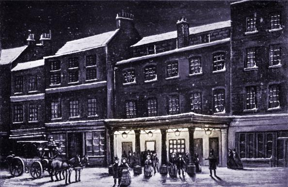 Theatre Royal Haymarket「Haymarket theatre, London in the snow」:写真・画像(7)[壁紙.com]