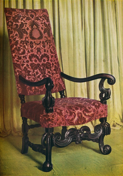 Upholstered Furniture「An Upholstered Arm Chair, c1680」:写真・画像(14)[壁紙.com]