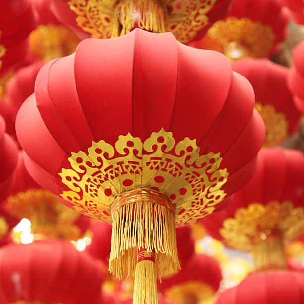 Chinese Red Lanterns:スマホ壁紙(壁紙.com)