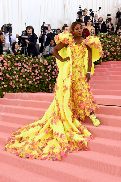 Cream Colored「The 2019 Met Gala Celebrating Camp: Notes on Fashion - Arrivals」:写真・画像(2)[壁紙.com]