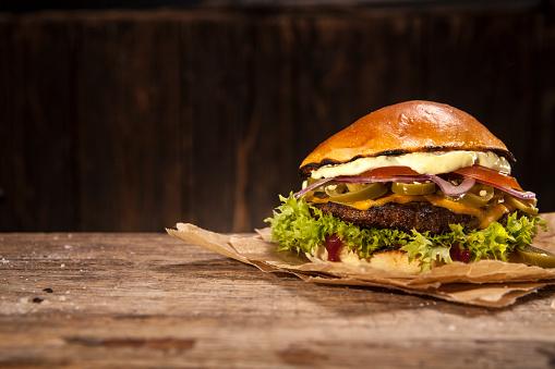 Fast Food「Hot Chili Burger」:スマホ壁紙(12)