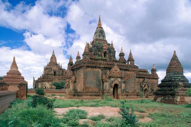 Wats temples. Pagan, Burma Myanmar.:ニュース(壁紙.com)