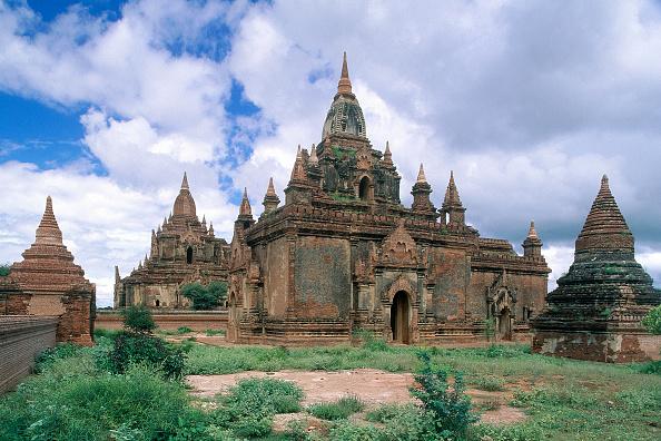 Brick Wall「Wats temples. Pagan, Burma Myanmar.」:写真・画像(9)[壁紙.com]