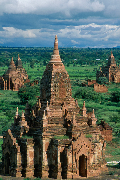 Ornate「Wats temples. Pagan, Burma Myanmar.」:写真・画像(16)[壁紙.com]