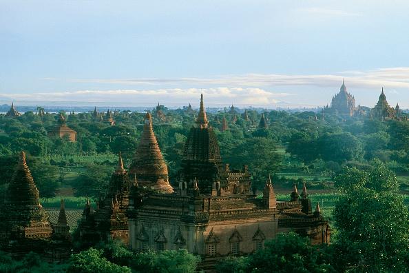 Brick Wall「Wats temples. Pagan, Burma, Myanmar.」:写真・画像(4)[壁紙.com]