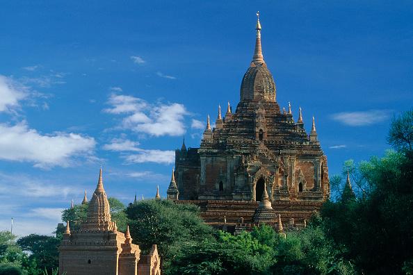 Brick Wall「Wats temples. Pagan, Burma Myanmar.」:写真・画像(10)[壁紙.com]