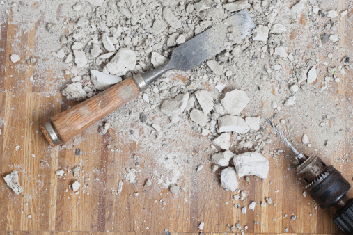 Chisel「Germany, Cologne, Work tools on oak floor」:スマホ壁紙(15)