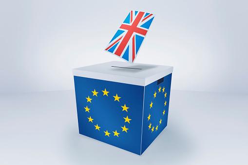Ballot Box「British Flag at EU Ballot Box」:スマホ壁紙(13)