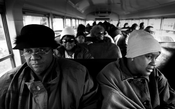 School Bus「African-Americans Struggle to Recapture Their Piece Of New Orleans」:写真・画像(8)[壁紙.com]