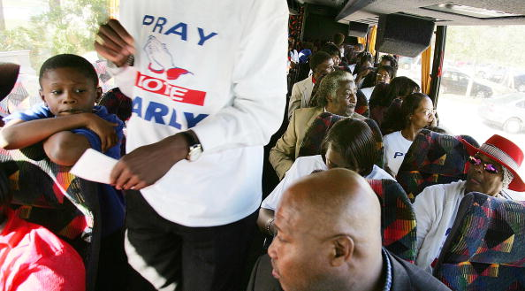 Domination「African-American Churches Exhort Voters To Go To Polls」:写真・画像(8)[壁紙.com]
